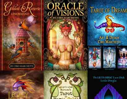 Online Tarot App Deck Samples
