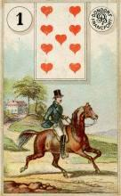 Lenormand Card 1 Rider Meaning & Combinations