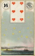 Lenormand Card 16 Stars Meaning & Combinations