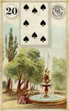 Lenormand Card 20 Garden Meaning & Combinations