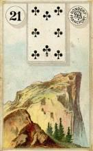Lenormand Card 21 Mountain Meaning & Combinations