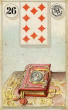 Lenormand Card 26 Book Meaning & Combinations
