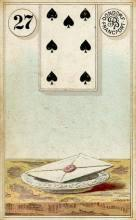 Lenormand Card 27 Letter Meaning & Combinations