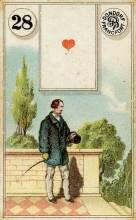 Lenormand Card 28 Man Meaning & Combinations