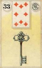 Lenormand Card 33 Key Meaning & Combinations
