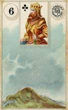 Lenormand Card 6 Clouds Meaning & Combinations