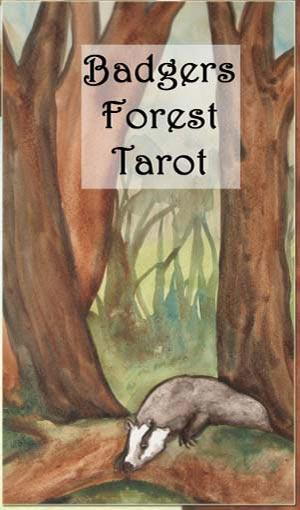 Badgers Forest Tarot Box Cover