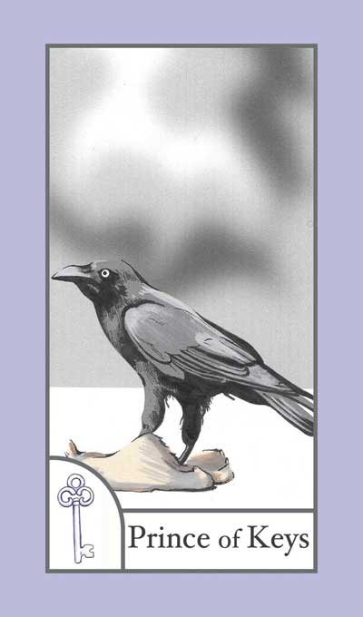 The BirdQueen Tarot, Sample Deck card #5