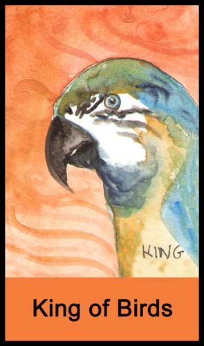 King of Birds (Cups)