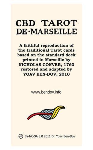 CBD Tarot de Marseille Box Cover