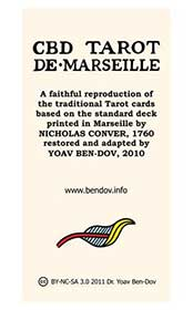 CBD Tarot de Marseille Cover