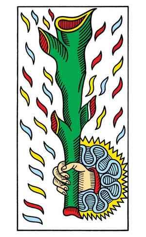 CBD Tarot de Marseille, Sample Deck card #3