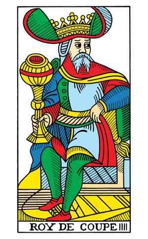 CBD Tarot de Marseille, Sample Deck card #6