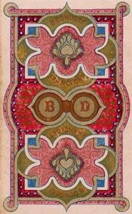Dondorf Lenormand, Sample Deck card #1