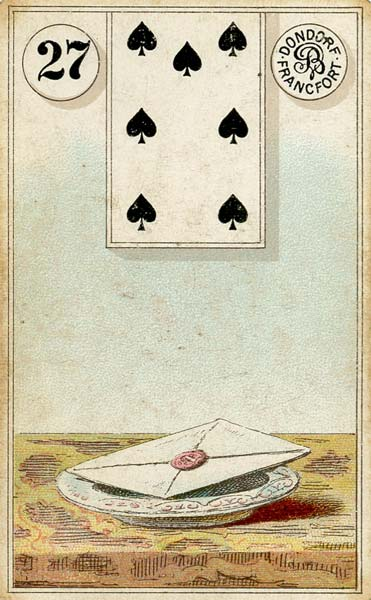 Dondorf Lenormand, Sample Deck card #2