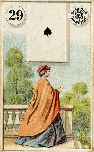 Dondorf Lenormand, Sample Deck card #4