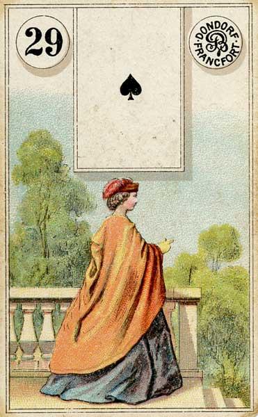 Dondorf Lenormand, Sample Deck card #4