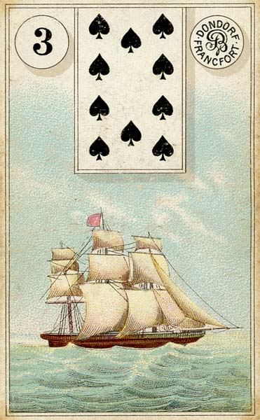 Dondorf Lenormand, Sample Deck card #5