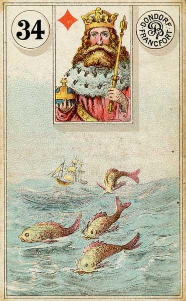 Dondorf Lenormand, Sample Deck card #6