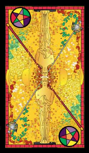 The Golden Age of Hollywood Tarot, Sample Deck card #1