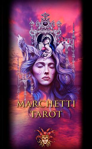 Marchetti Tarot Box Cover