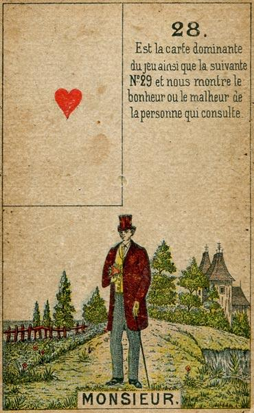 Petit Jeu Lenormand, Sample Deck card #3