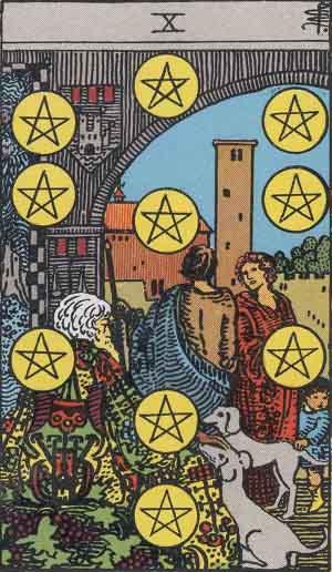 10 of Pentacles Tarot Card