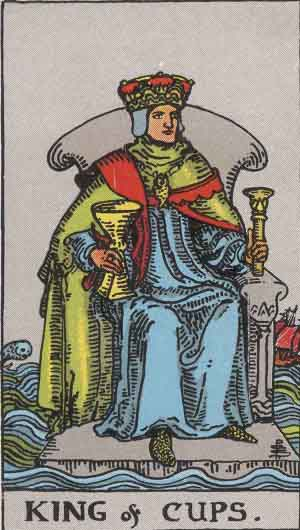 King of Cups Tarot Card
