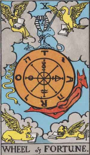 The Wheel of Fortune Tarot Card