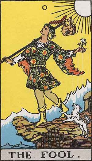 1909 Waite Smith Tarot, Sample Deck card #2