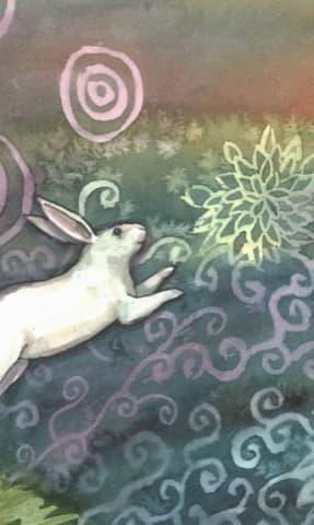 Nakisha's Rabbit Oracle, Sample Deck card #1