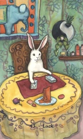 Nakisha's Rabbit Oracle, Sample Deck card #2