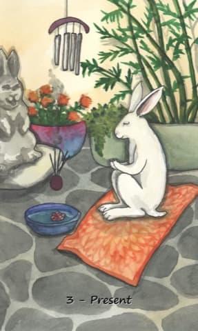 Nakisha's Rabbit Oracle, Sample Deck card #3