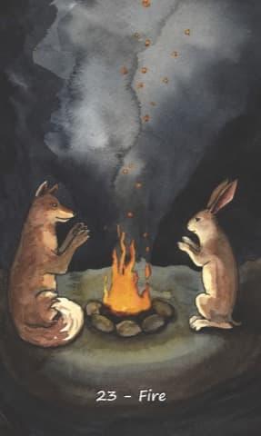 Nakisha's Rabbit Oracle, Sample Deck card #4