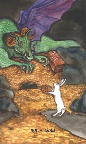 Nakisha's Rabbit Oracle, Sample Deck card #5