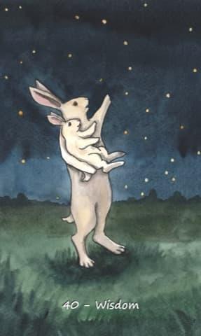 Nakisha's Rabbit Oracle, Sample Deck card #6