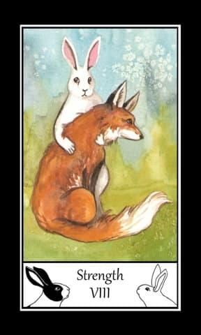 The Rabbit Tarot, Sample Deck card #2