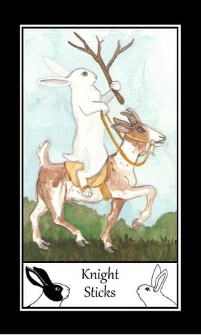 The Rabbit Tarot, Sample Deck card #3