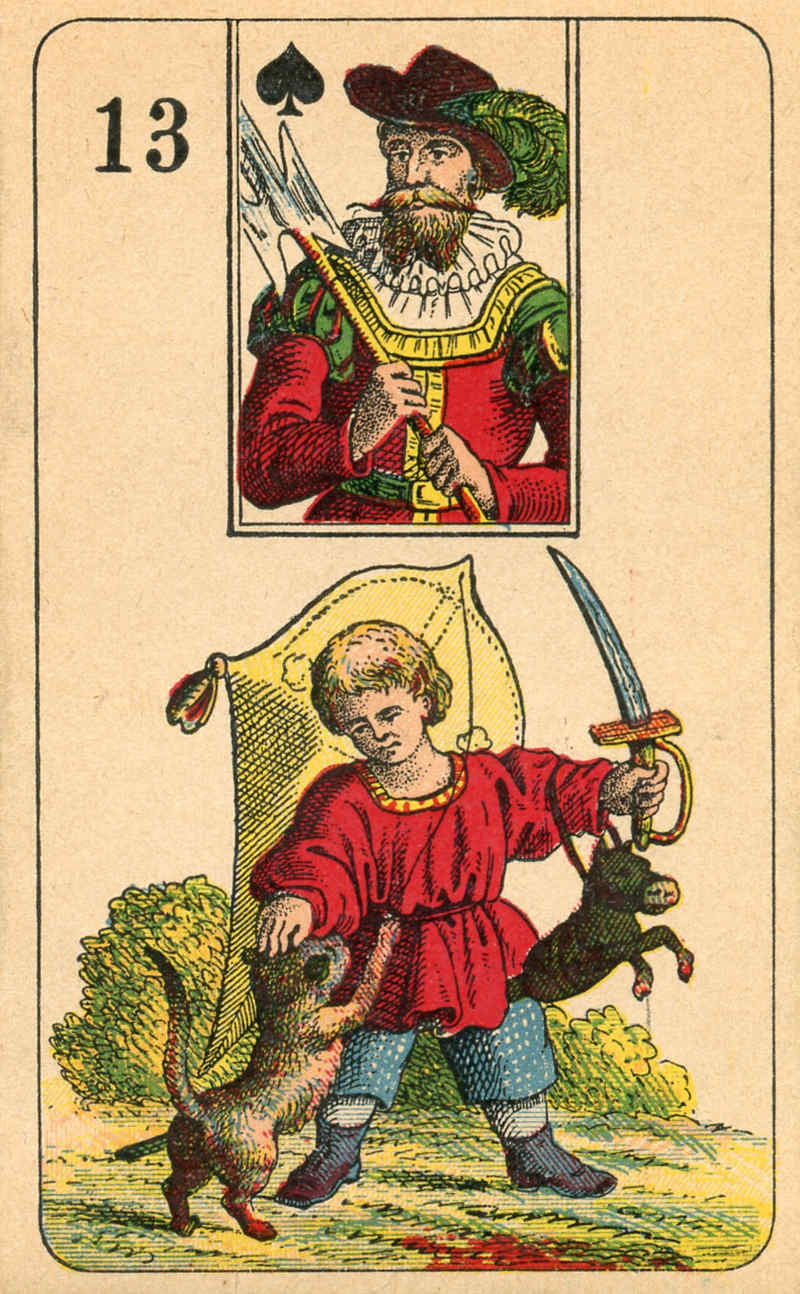 Stralsunder Lenormand, Sample Deck card #3