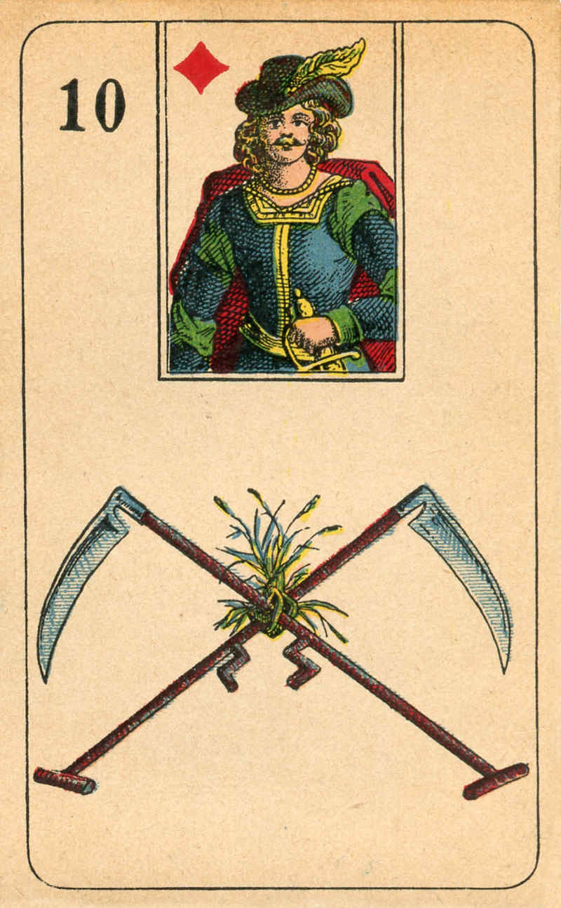Stralsunder Lenormand, Sample Deck card #4