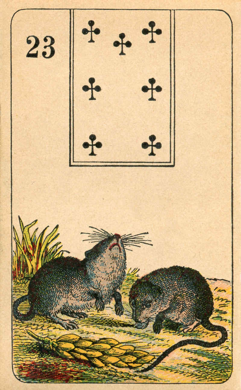 Stralsunder Lenormand, Sample Deck card #5