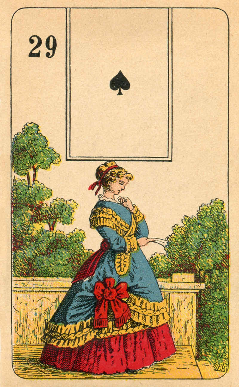 Stralsunder Lenormand, Sample Deck card #6