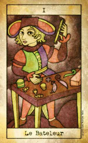 Tarot de Maria Celia, Sample Deck card #2