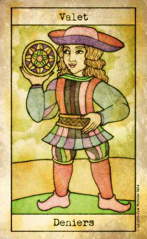 Tarot de Maria Celia, Sample Deck card #4