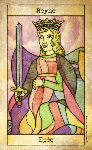 Tarot de Maria Celia, Sample Deck card #5