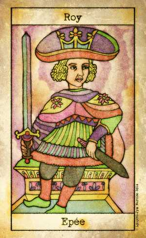 Tarot de Maria Celia, Sample Deck card #6
