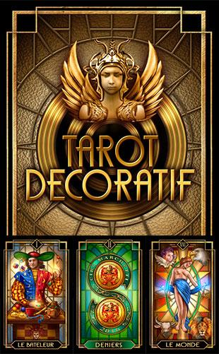 Tarot Decoratif Box Cover