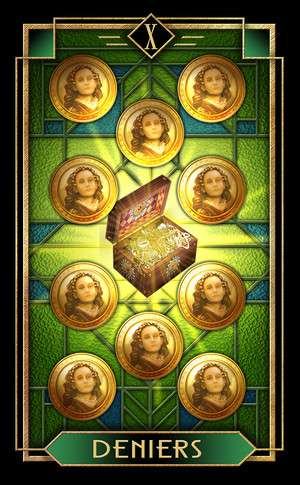Tarot Decoratif, Sample Deck card #4