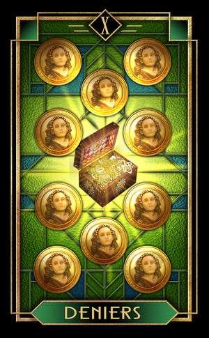Tarot Decoratif, Sample Deck card #4