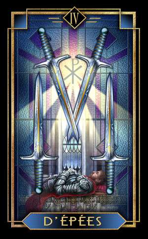 Tarot Decoratif, Sample Card
